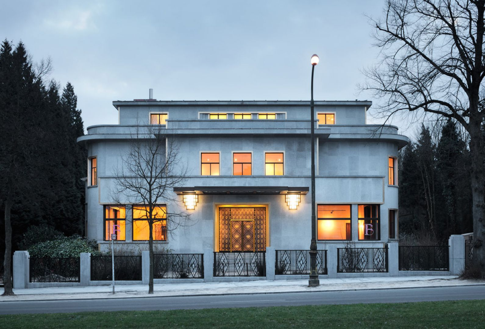 Villa empain ma metzger et associ s architecture for Architecture villa